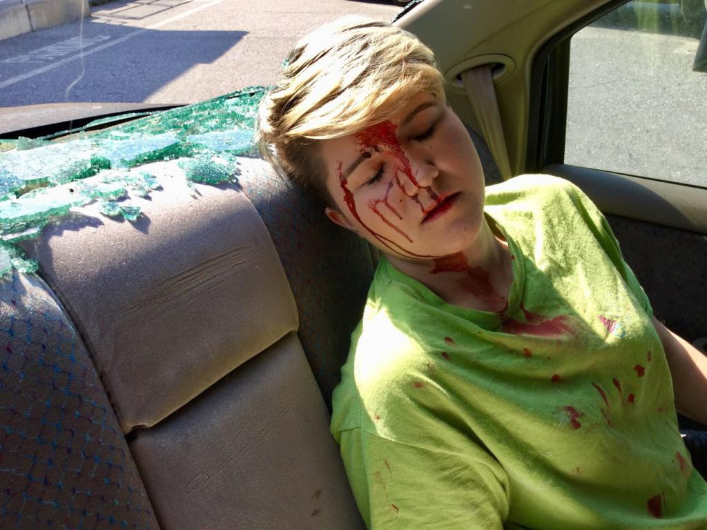 Unconscious passenger